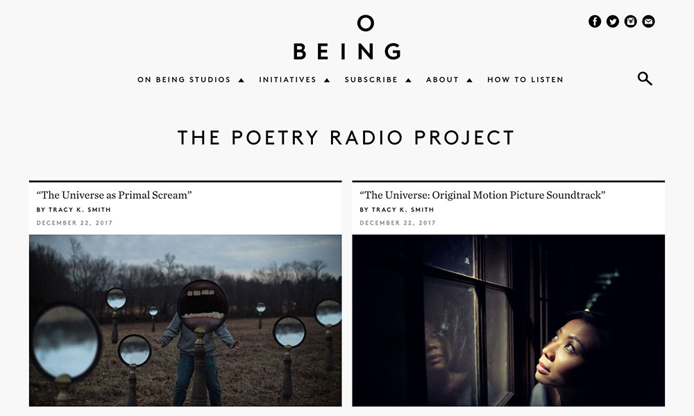 poetry radio project